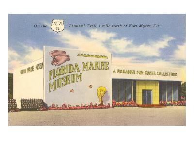 Florida Marine Museum, Ft. Myers, Florida--Art Print