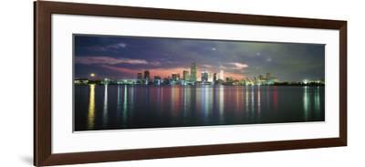 Florida, Miami--Framed Photographic Print