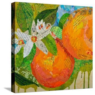 Florida Oranges--Stretched Canvas Print
