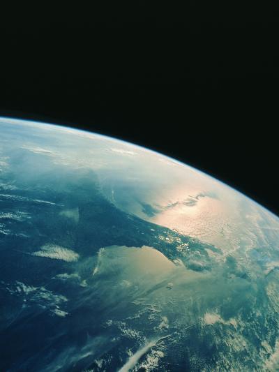 Florida Peninsula From Shuttle--Photographic Print