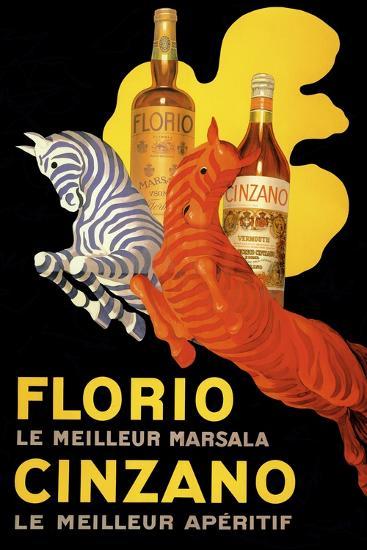 Florio Cinzano--Giclee Print