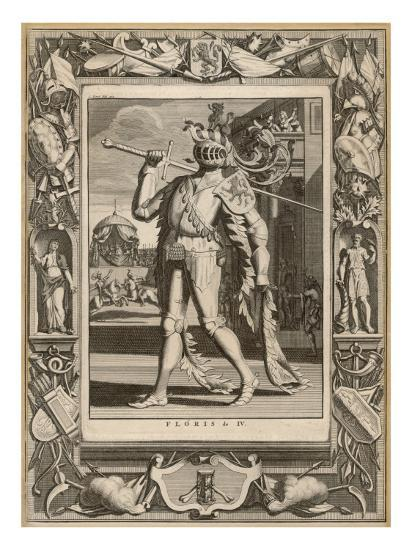 Floris IV, Count of Holland in Armour for a Tournament--Giclee Print