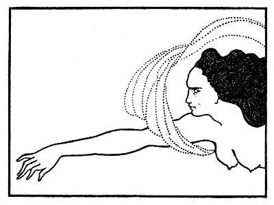 Flosshilde, Illustration for Das Rheingold, Published in 'The Savoy' Magazine, 1896-Aubrey Beardsley-Giclee Print