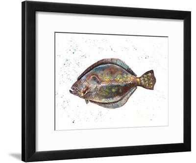 Flounder 1-T.J. Heiser-Framed Art Print