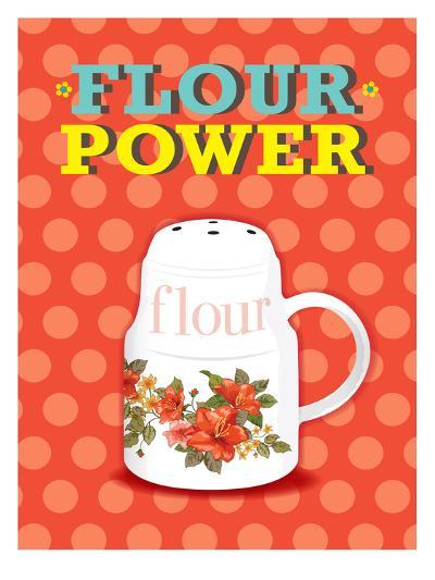 Flour Power-Patricia Pino-Art Print