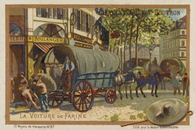 Flour Wagon--Giclee Print