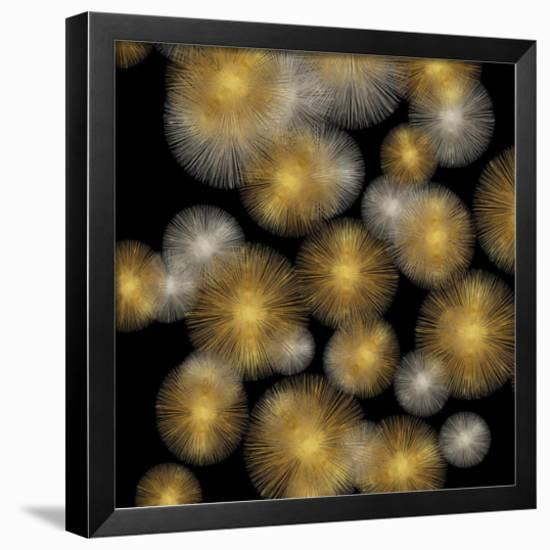 Flourish in Gold and Silver-Abby Young-Framed Giclee Print