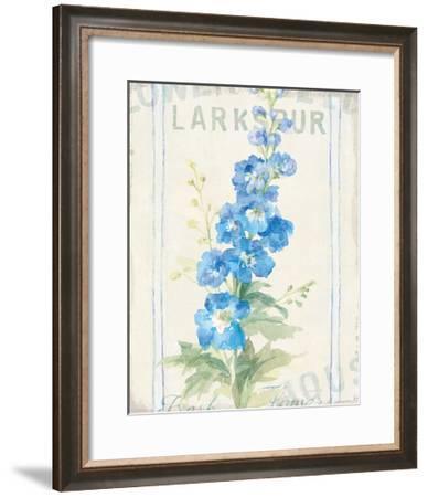 Floursack Florals VII-Danhui Nai-Framed Art Print
