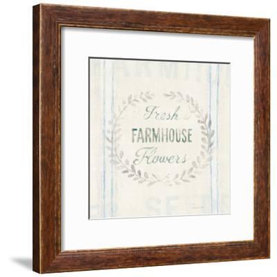 Floursack Florals VIII-Danhui Nai-Framed Art Print