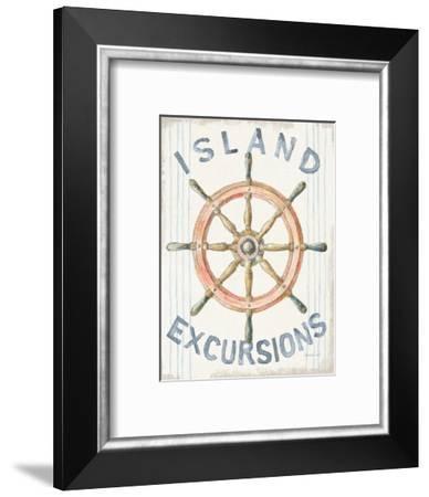 Floursack Nautical IV-Danhui Nai-Framed Art Print