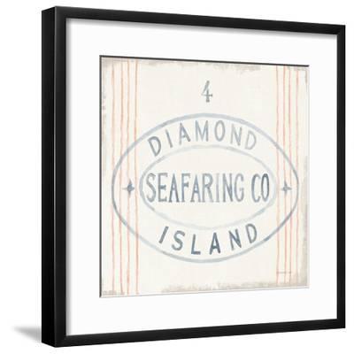 Floursack Nautical XI-Danhui Nai-Framed Art Print