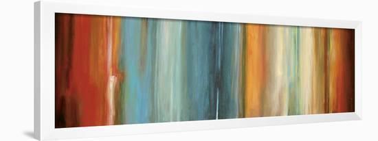 Flow II-Max Hansen-Framed Art Print
