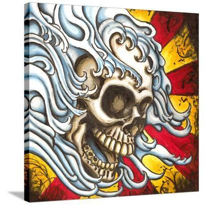 Flow- Shayne of the Dead-Stretched Canvas Print
