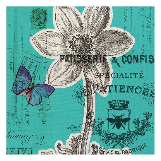Flower 5A-Elizabeth Jordan-Art Print