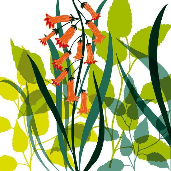 Flower Applique II-Laure Girardin-Vissian-Giclee Print