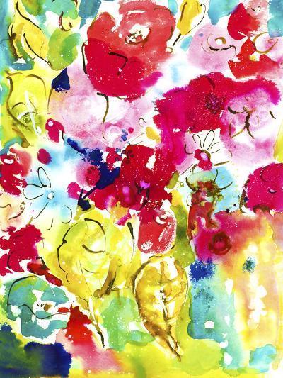 Flower Array I-Julia Minasian-Art Print