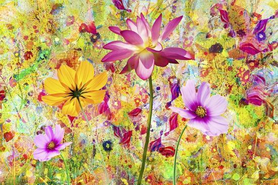 Flower Art A9-Ata Alishahi-Giclee Print