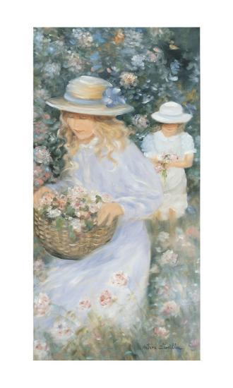 Flower Basket-H?l?ne L?veill?e-Art Print