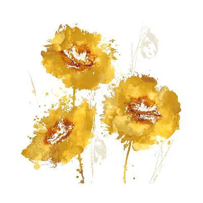 Flower Burst Trio in Amber-Vanessa Austin-Giclee Print