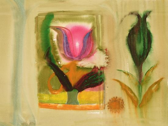 Flower Burst-Michael Chase-Giclee Print