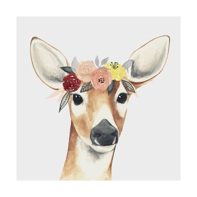 Flower Crown Forester I-Grace Popp-Art Print