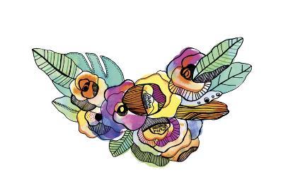 Flower Crown-Cayena Blanca-Giclee Print
