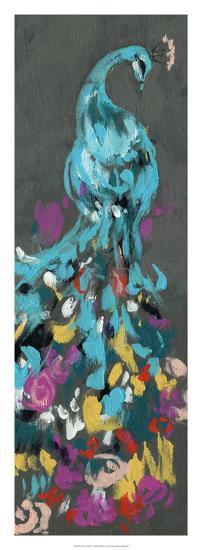 Flower Feathers I-Jennifer Goldberger-Premium Giclee Print