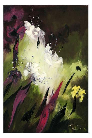 Flower Field 1-Nathalie Poulin-Art Print
