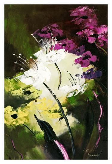 Flower Field 2-Nathalie Poulin-Art Print