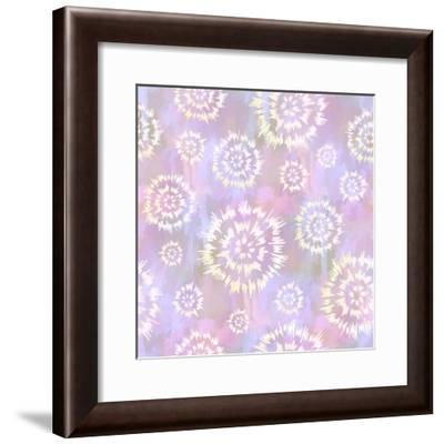 Flower Fling Violet-Cora Niele-Framed Giclee Print