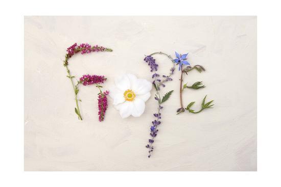Flower For Hope-Heather Johnston-Art Print