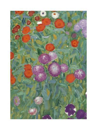 Flower Garden, 1905-07 (Detail)-Gustav Klimt-Giclee Print