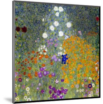Flower Garden, 1905-07-Gustav Klimt-Mounted Premium Giclee Print