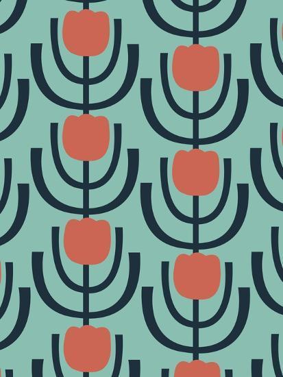Flower Garden 2-Rachel Gresham-Giclee Print
