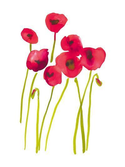 Flower Garden V-Sandra Jacobs-Giclee Print