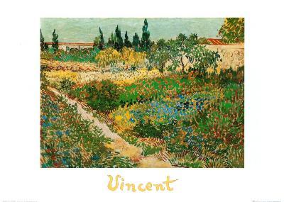 Flower Garden-Vincent van Gogh-Art Print