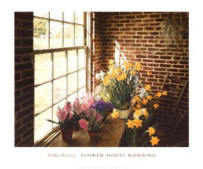 Flower House Morning-Philbeck-Art Print
