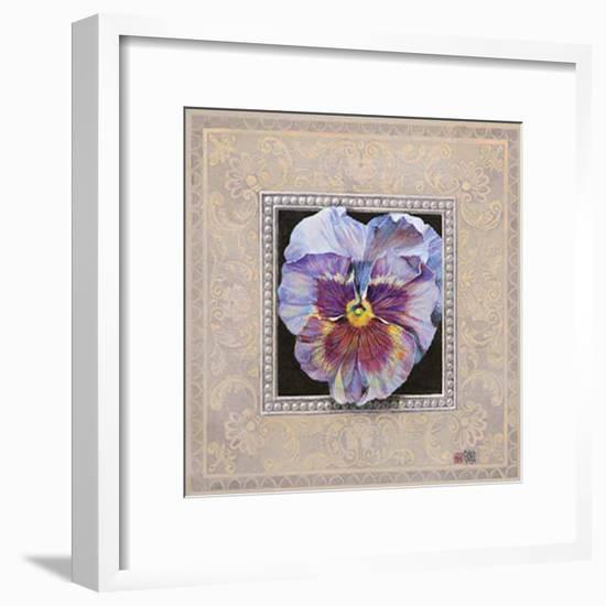 Flower I-Maya Nishiyama-Framed Art Print