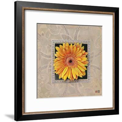Flower IV-Maya Nishiyama-Framed Art Print