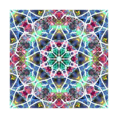 Flower Labyrint V-Alaya Gadeh-Art Print
