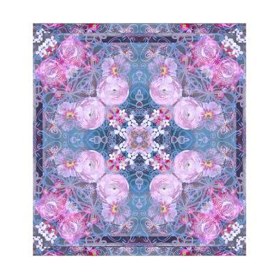 Flower Lace Mandala-Alaya Gadeh-Art Print