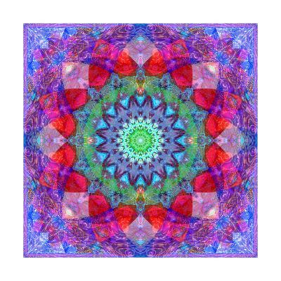 Flower Mandala 248-Alaya Gadeh-Art Print