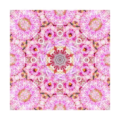 Flower Mandala Love VII-Alaya Gadeh-Art Print