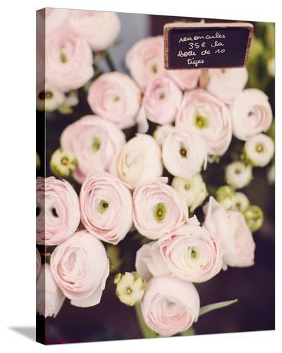 Flower Market-Irene Suchocki-Stretched Canvas Print