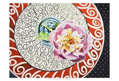 Flower on Plate I-Redstreake-Art Print