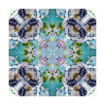 Flower Ornament Anemone-Alaya Gadeh-Art Print