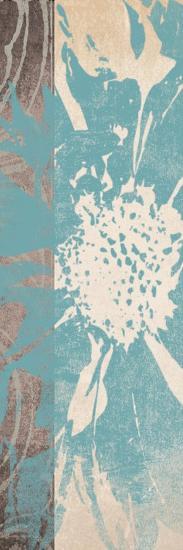 Flower Panel 1-Alonza Saunders-Art Print