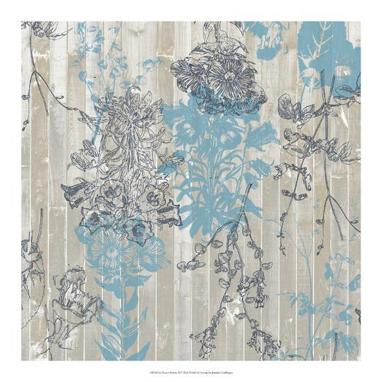 Flower Pattern II-Jennifer Goldberger-Art Print