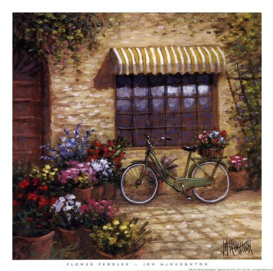 Flower Peddler-Jon McNaughton-Art Print