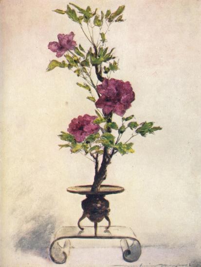 'Flower-Placing', c1887, (1901)-Mortimer L Menpes-Giclee Print